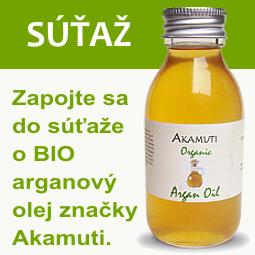 Súťaž o BIO arganový olej